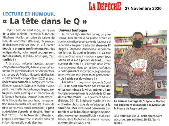 Article LA DEPECHE_27112020_vmail.jpg
