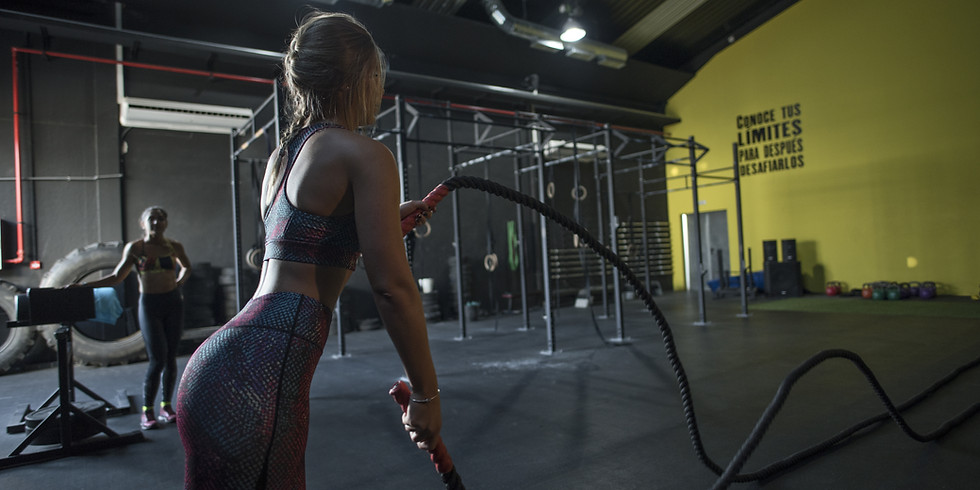 Super Woman Functional Workout and Healthy Lunch
