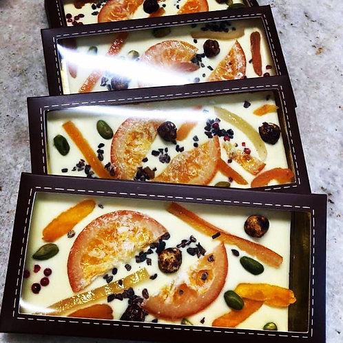 Tablette Blanc fruits confits