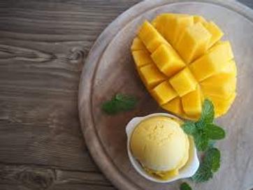 Sorbet de mangue pot 130g