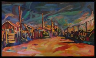 elalini series - oil on canvas - 120x160cm - 1996