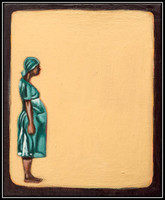bloodline vs deadline - acrylic on canvas - 10x12cm – 2013