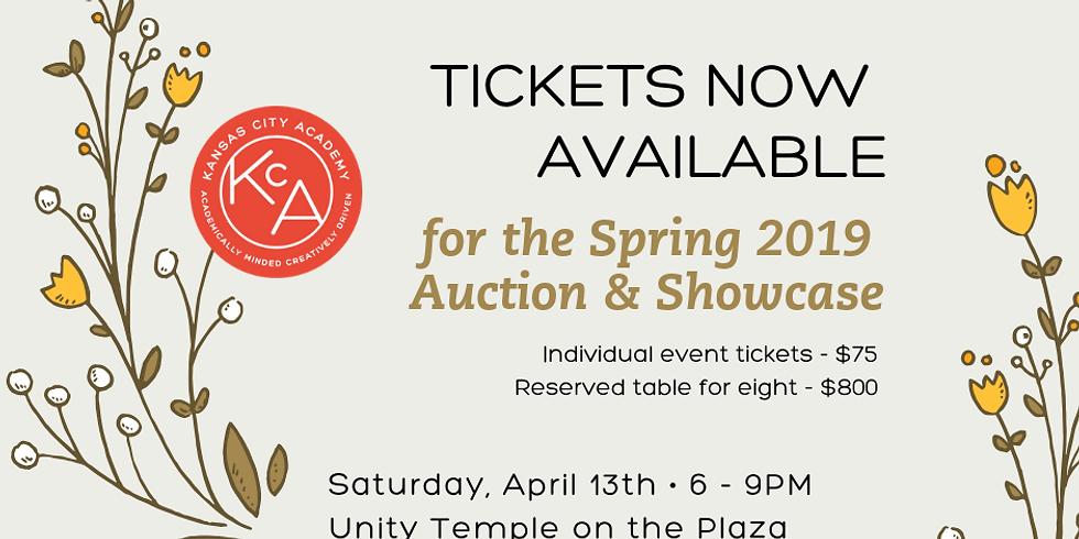 Spring 2019 Auction & Showcase