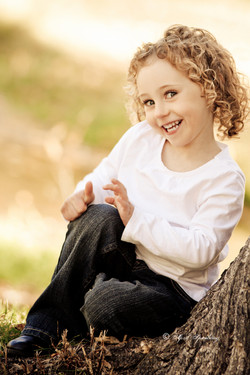Cute 4 year old girl session
