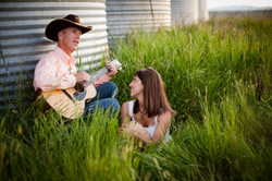 Sing me a love song cowboy