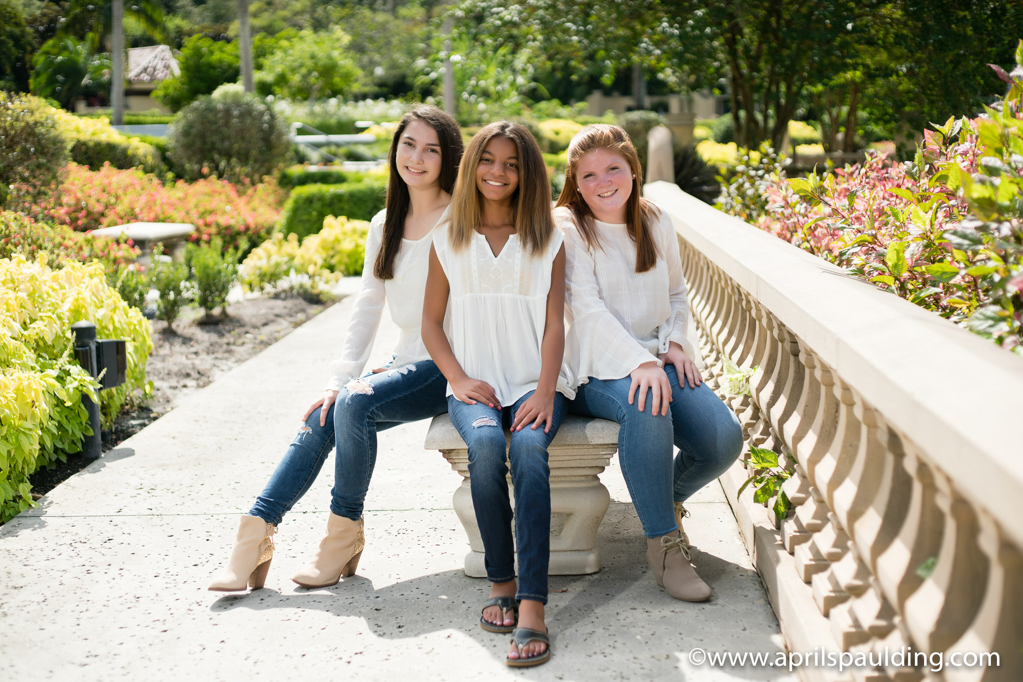 Three tween girls sessions