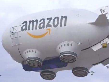 Amazon presenta dron de entregas inmediatas