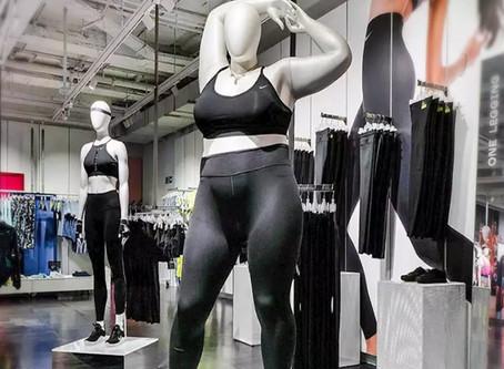 El maniquí extra de Nike y sus polémicas