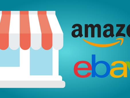Ventajas y desventajas de vender en Amazon e ebay