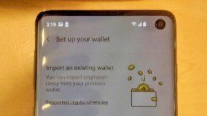 Samsung lanza Smartphones con billeteras para criptomonedas