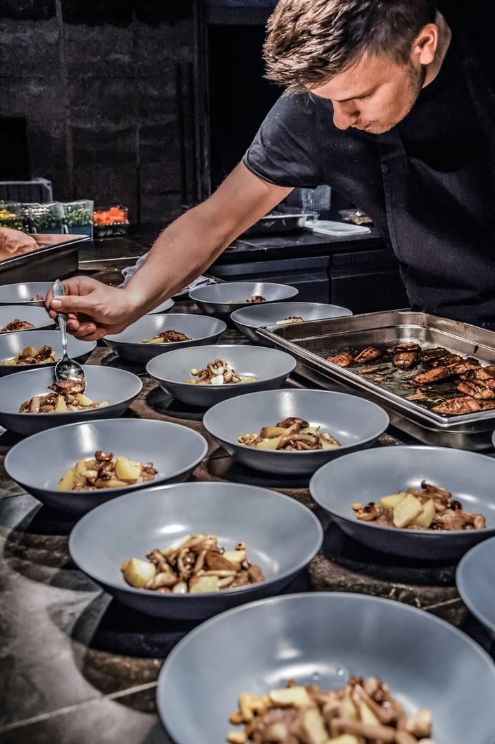 Culinair - aangepast op de wens van de klant.