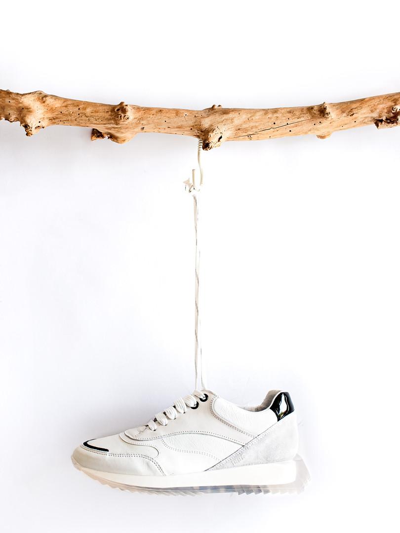Hanging shoe