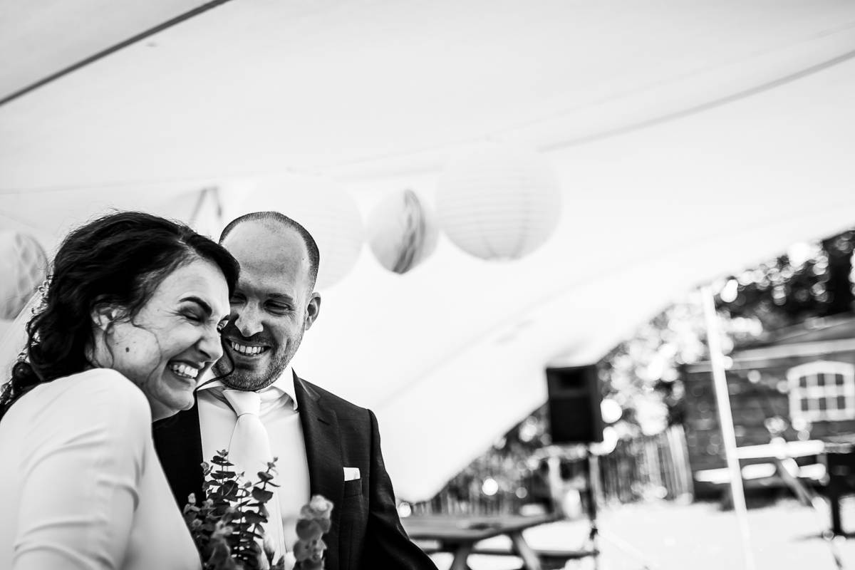 Huwelijk Afra & David