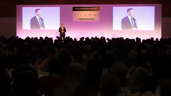 Luke Rees Conference Photo