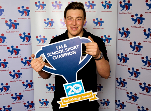 Luke Rees appointed as Youth Sport Trust Youth Board Member and Young Tutor.