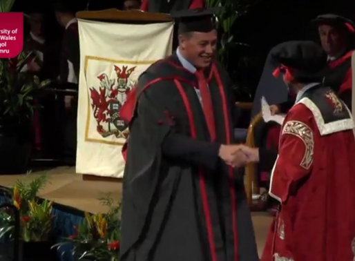 Luke Graduates with First Class Honours