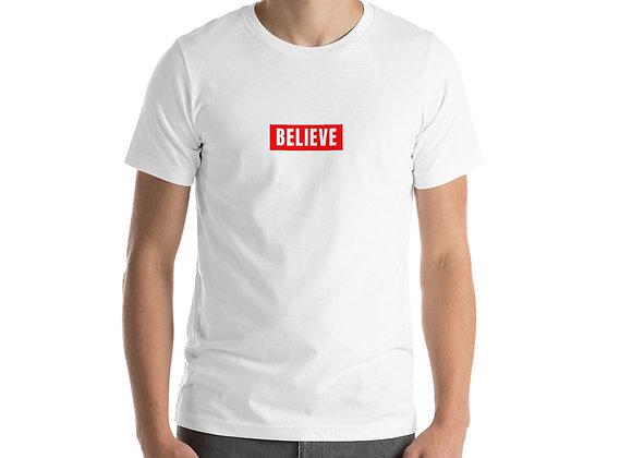 Unisex Red Believe T-Shirt