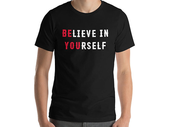 Mens Believe In Yourself T-Shirt