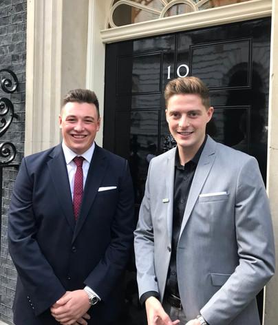 Luke Rees 10 Downing Street