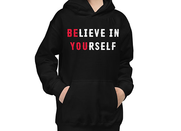 Kids Believe In Yourself Hoodie
