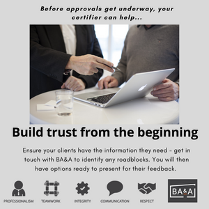 certification process trust and support