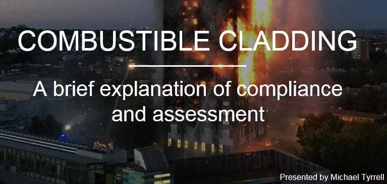 Combustible cladding CPD front slide image
