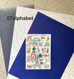 alphabet白青