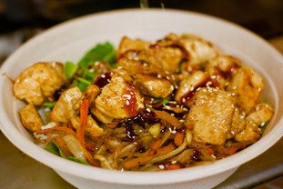 Teriyaki Grilled Chicken Rice Bowl