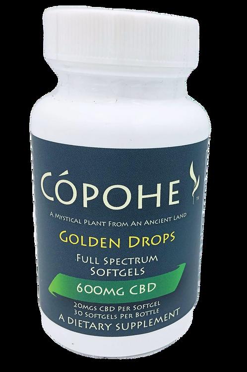 Cópohe 20mg CBD Golden Drops