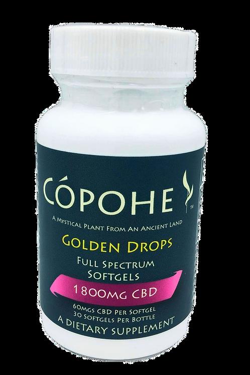 Cópohe 60mg CBD Golden Drops