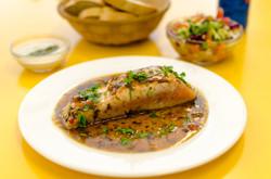 פילה סלמון בטריאקי תוצרת בית