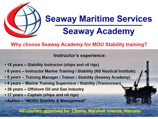 Why Choose Seaway Academy For MOU Stability Training?