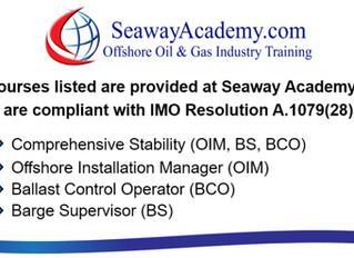 "Seaway Academy ""Training Update Regarding Travel Restrictions"""