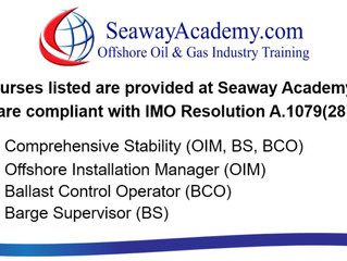 "Seaway Academy ""Training Update Regarding Travel Restrictions"""