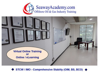 Seaway Academy - Two Online Flag-State Approved Options for STCW / IMO Comprehensive Stability Train