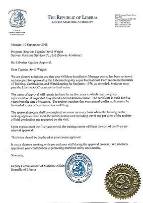 Liberia - OIM - official cert.jpg