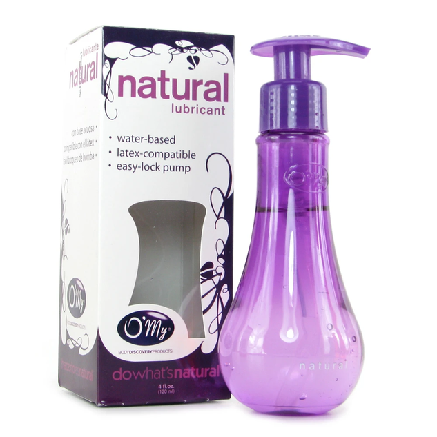 O'My Natural Water-Based Lube