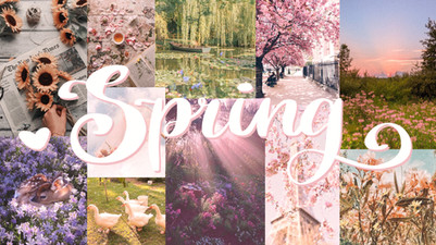 Spring Collage Wallpaper