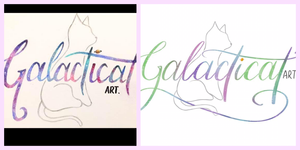 I clearly learned a bit more about lettering since the first one, and had the help of an iPad to write up a nice logo in the second one!
