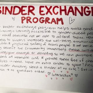 Binder Exchange Program
