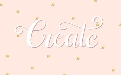 'Create' Wallpaper