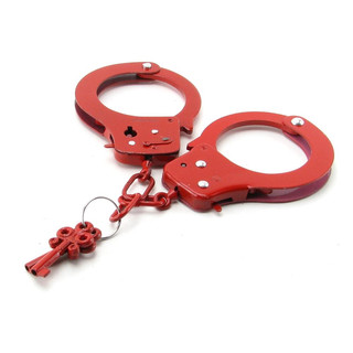 Red Handcuffs