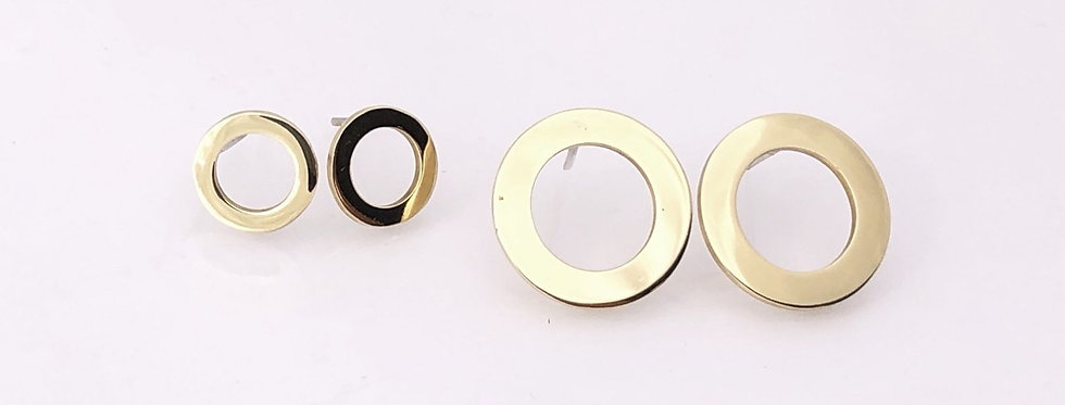 Dua Circle Studs - Small