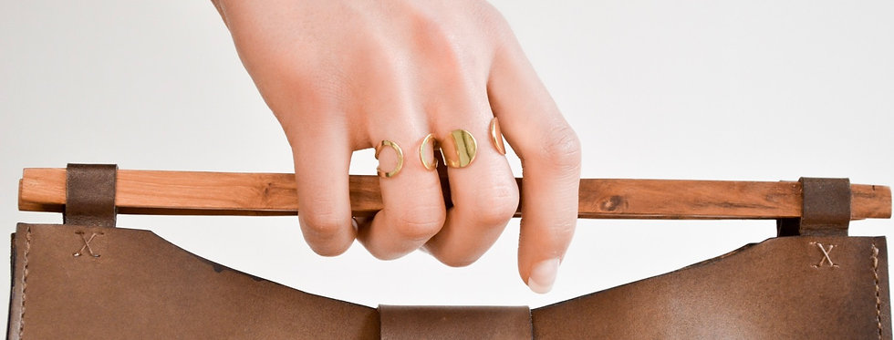 Keeva Outline Wrap Ring