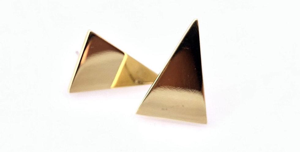 Boa Triangle Studs