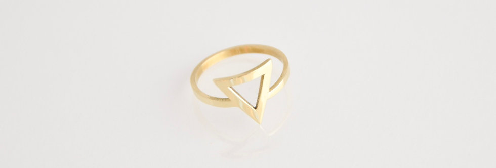 Trinity Outline Ring