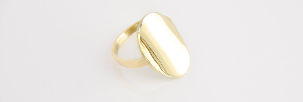 Meira Bold Oval Ring