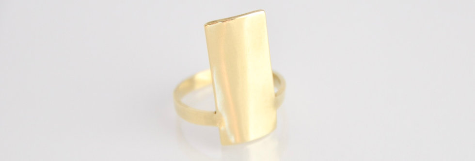 Meira Bold Plate Ring