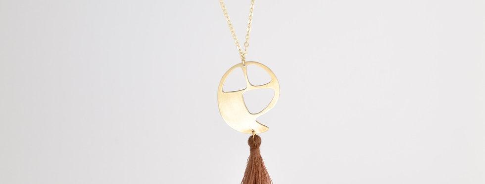 Zuri Drop Necklace with Tassel