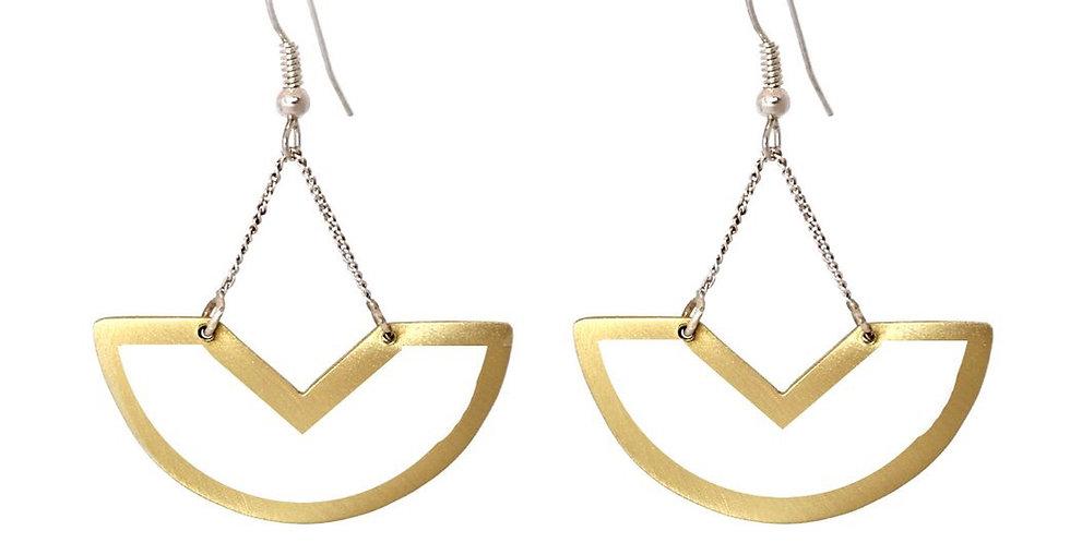 Fawo Outline Hanging Earrings